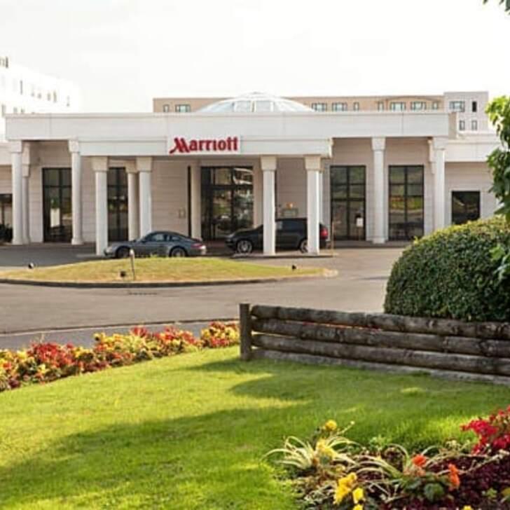 PARIS MARRIOTT CHARLES DE GAULLE AIRPORT HOTEL Hotel Car Park (Covered) Roissy-en-France