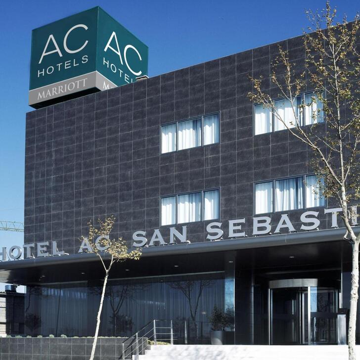 AC SAN SEBASTIÁN DE LOS REYES Hotel Car Park (External San Sebastián de los Reyes
