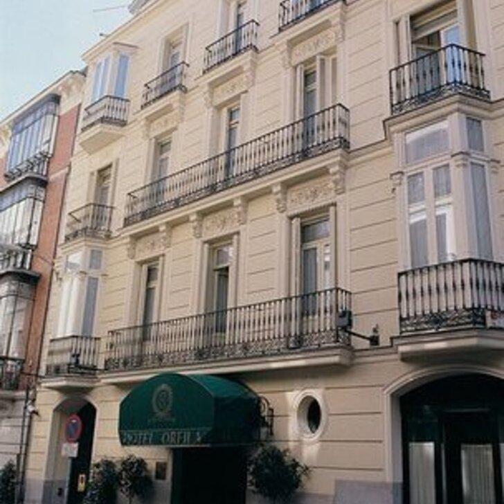 Parcheggio Hotel ORFILA RELAIS & CHÂTEAUX (Coperto) Madrid