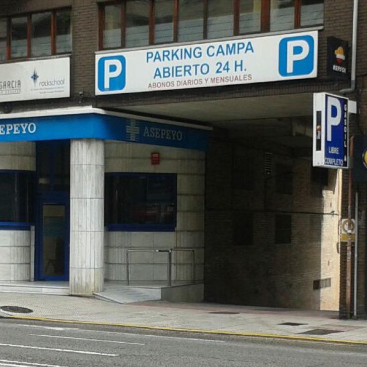 Parking Público CAMPA (Cubierto) Oviedo, Asturias