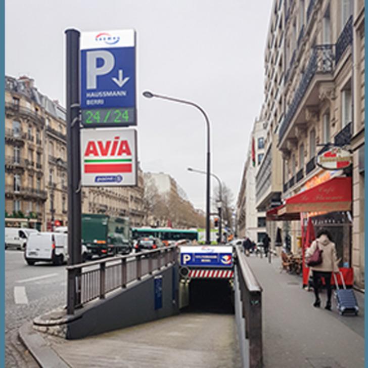 SAEMES HAUSSMANN BERRI Public Car Park (Covered) PARIS