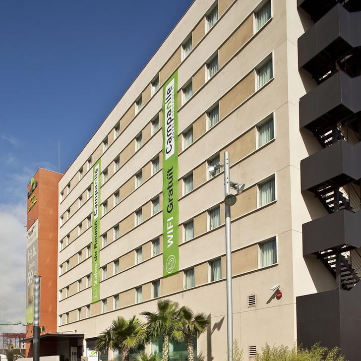 Parking Hotel CAMPANILE BARCELONA SUD-CORNELLÀ (Cubierto) Cornellà de Llobregat, Barcelona