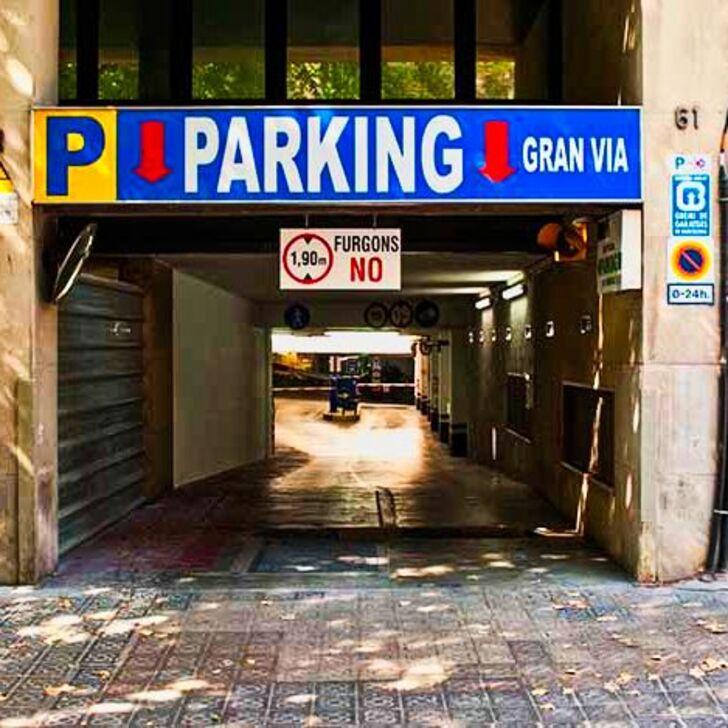 Parking Público GRAN VIA (Cubierto) Barcelona