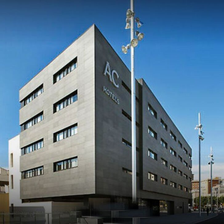 ACHOTELS BY MARRIOTT SANTS Hotel Car Park (Covered) Barcelona