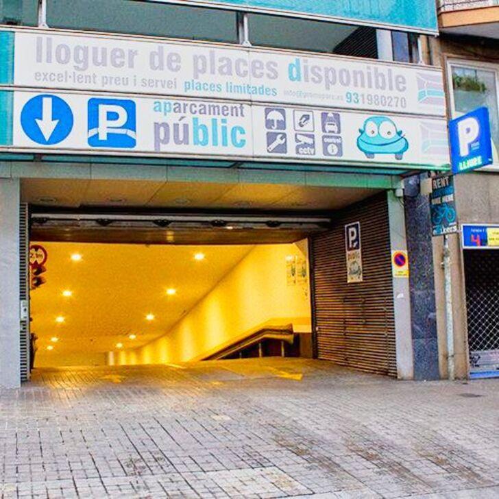 PROMOPARC NH SANTS Openbare Parking (Overdekt) Barcelona