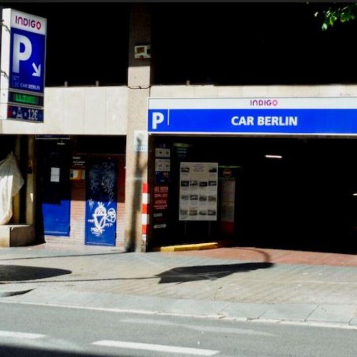 ESTACIÓN DE SANTS - CAR BERLIN Public Car Park (Covered) Barcelona