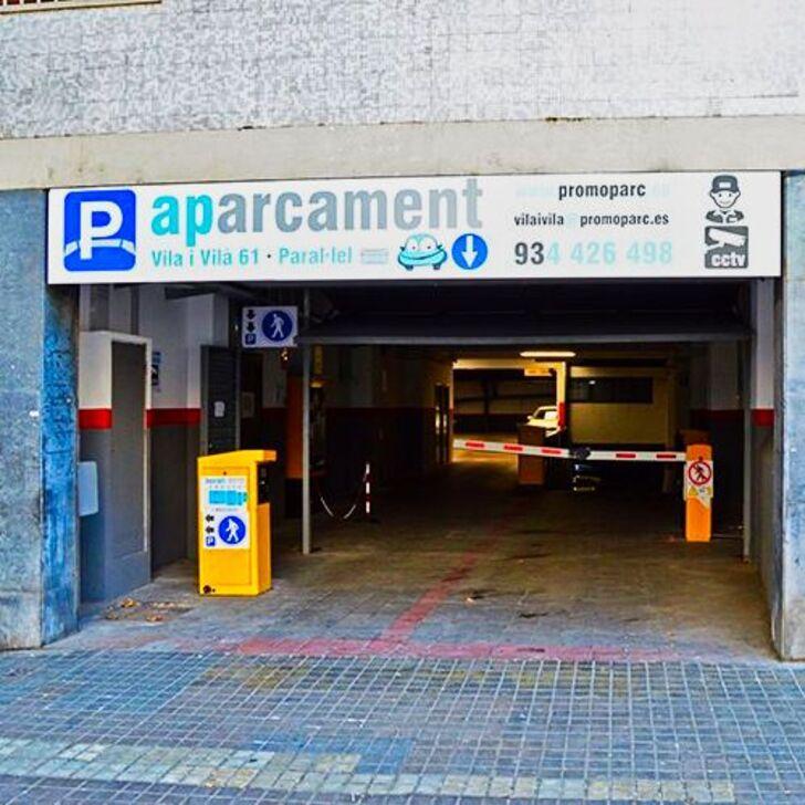 Parking Public PROMOPARC VILA I VILÀ (Couvert) Barcelona