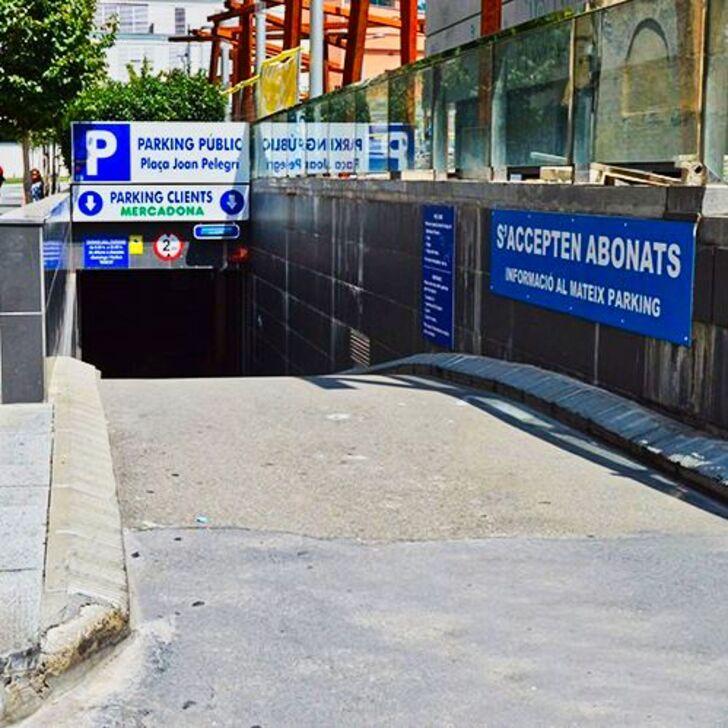 Parking Público PL. JOAN PELEGRÍ (Cubierto) Barcelona
