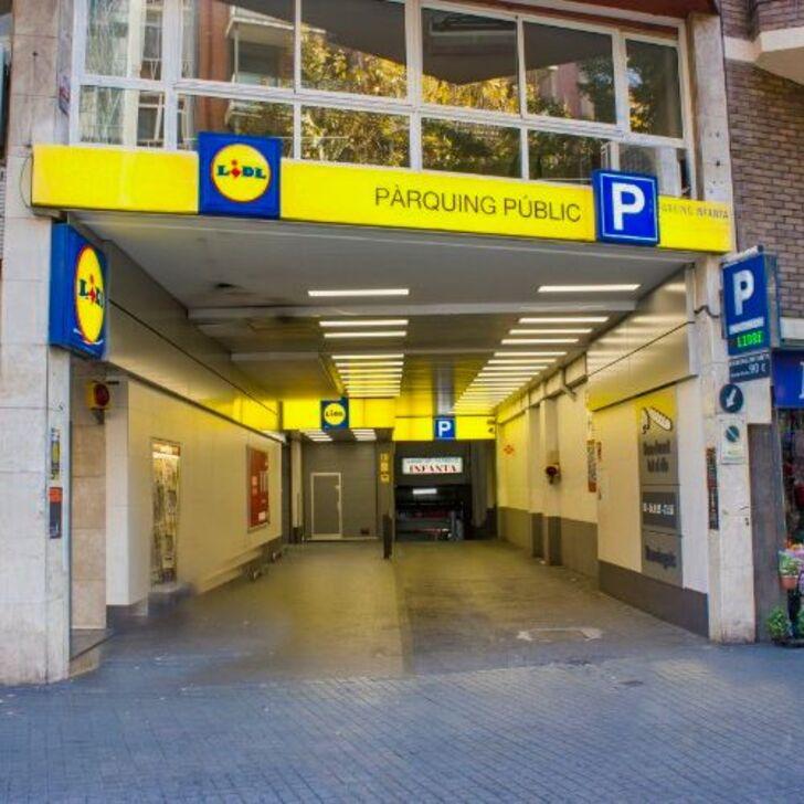 Parking Público INFANTA (Cubierto) Barcelona