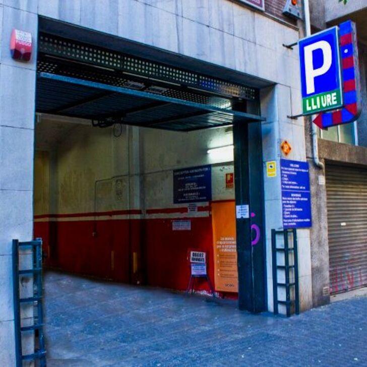ENTENZA Openbare Parking (Overdekt) Barcelona