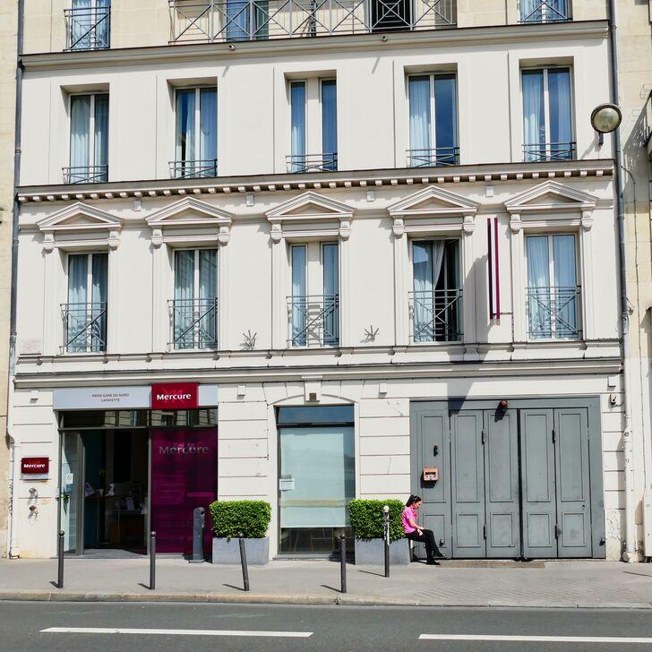 MERCURE PARIS GARE DU NORD LA FAYETTE Hotel Parking (Overdekt) Paris