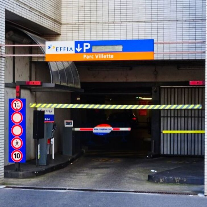 EFFIA VILLETTE - PROCHE PART-DIEU Openbare Parking (Exterieur) LYON