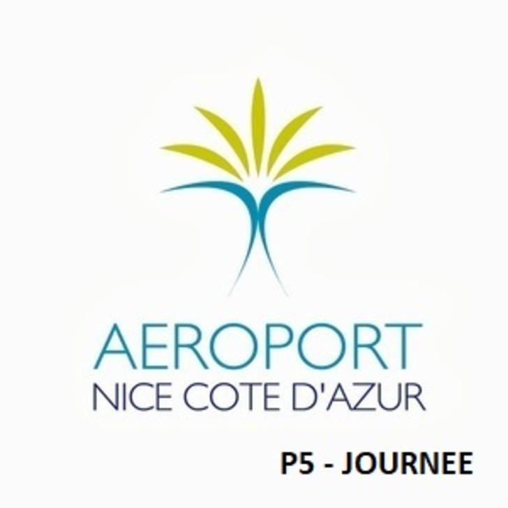 AÉROPORT DE NICE CÔTE D'AZUR P5 - Één Dag Officiële Parking (Overdekt) Nice