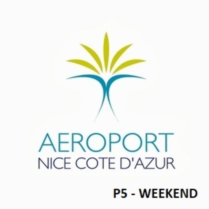 AÉROPORT DE NICE CÔTE D'AZUR P5 - Weekend Officiële Parking (Overdekt) Nice