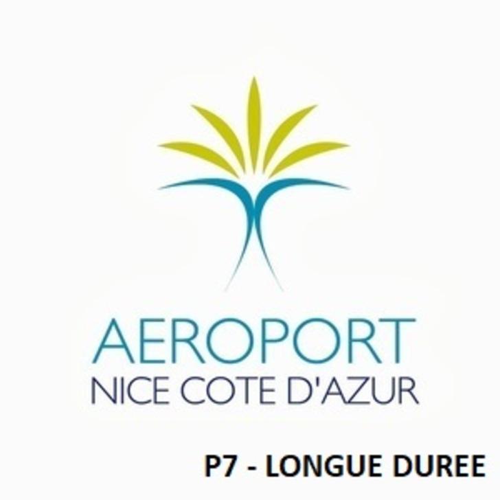 AÉROPORT DE NICE CÔTE D'AZUR P7 - Lange Duur Officiële Parking (Overdekt) Nice