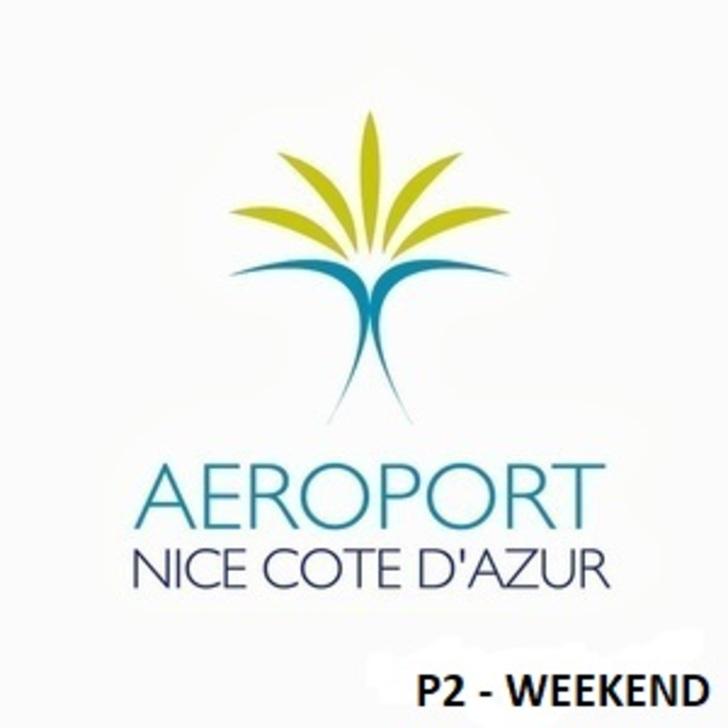 Parking Officiel AÉROPORT DE NICE CÔTE D'AZUR P2 (Extérieur) Nice