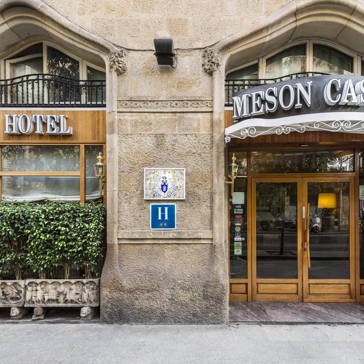 Hotel Parkhaus MESON CASTILLA ATIRAM (Überdacht) Barcelona
