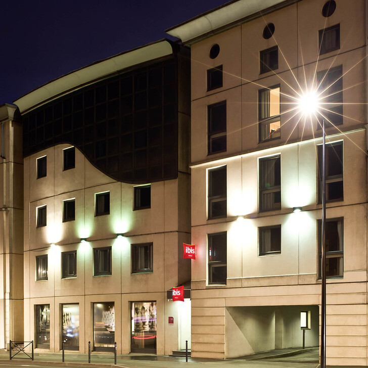IBIS BORDEAUX CENTRE GARE SAINT-JEAN Hotel Parking (Exterieur) Bordeaux