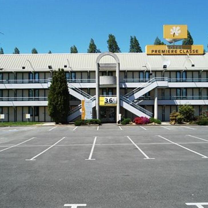 Parking Hôtel PREMIÈRE CLASSE RENNES EST - CESSON (Extérieur) Cesson-Sévigné
