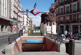 Antón Martín car parks in Madrid - Book at the best price