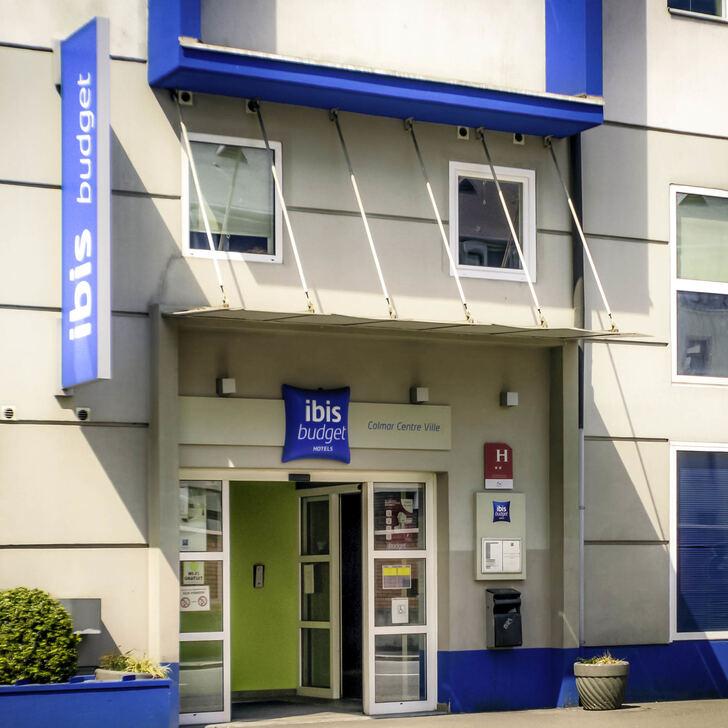 Parking Hôtel IBIS BUDGET COLMAR CENTRE-VILLE (Extérieur) Colmar