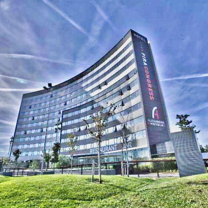 FIRA CONGRESS BARCELONA Hotel Parking (Exterieur) L'Hospitalet de Llobregat