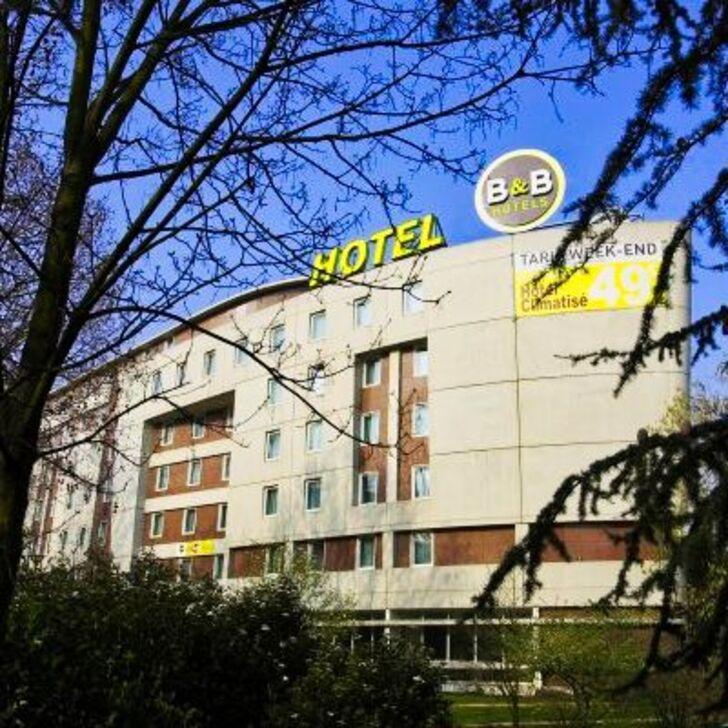Parking Hotel B&B PARIS MALAKOFF PARC DES EXPOSITIONS (Cubierto) Malakoff