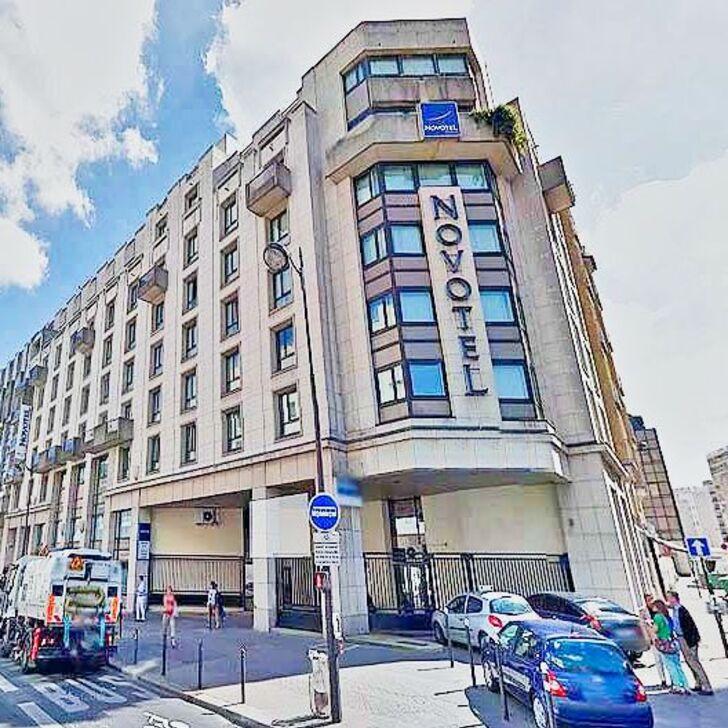 NOVOTEL PARIS VAUGIRARD MONTPARNASSE Hotel Car Park (Covered) Paris