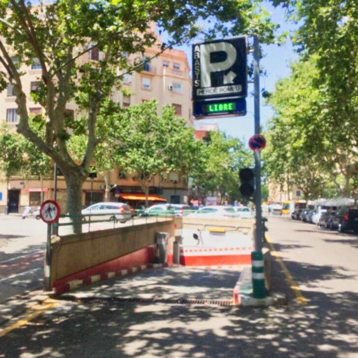 Öffentliches Parkhaus ABASTOS (Überdacht) Valencia
