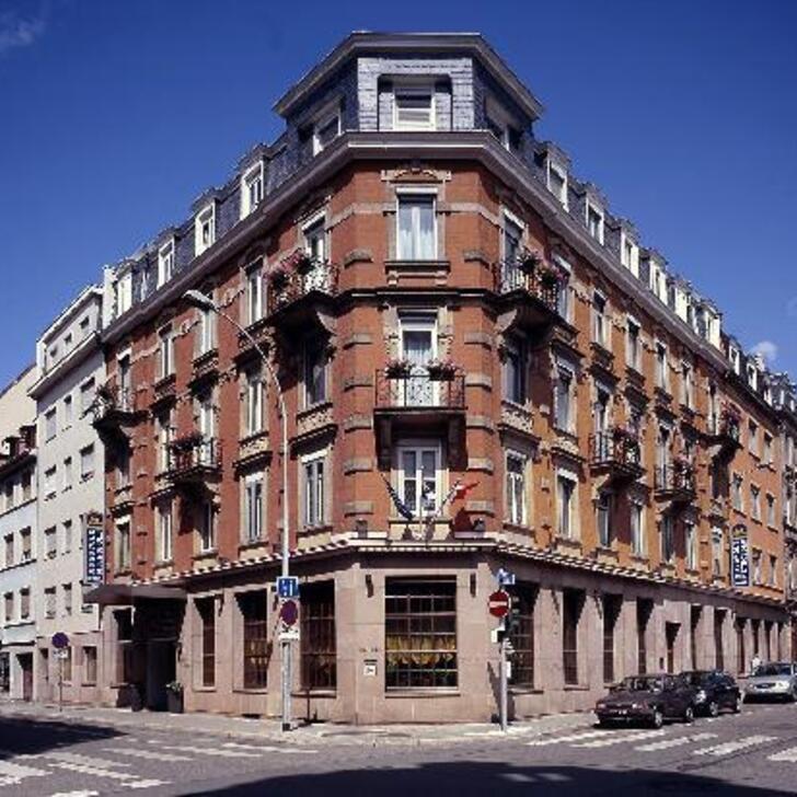 Parking Hotel BEST WESTERN PLUS HÔTEL MONOPOLE MÉTROPOLE (Cubierto) Strasbourg