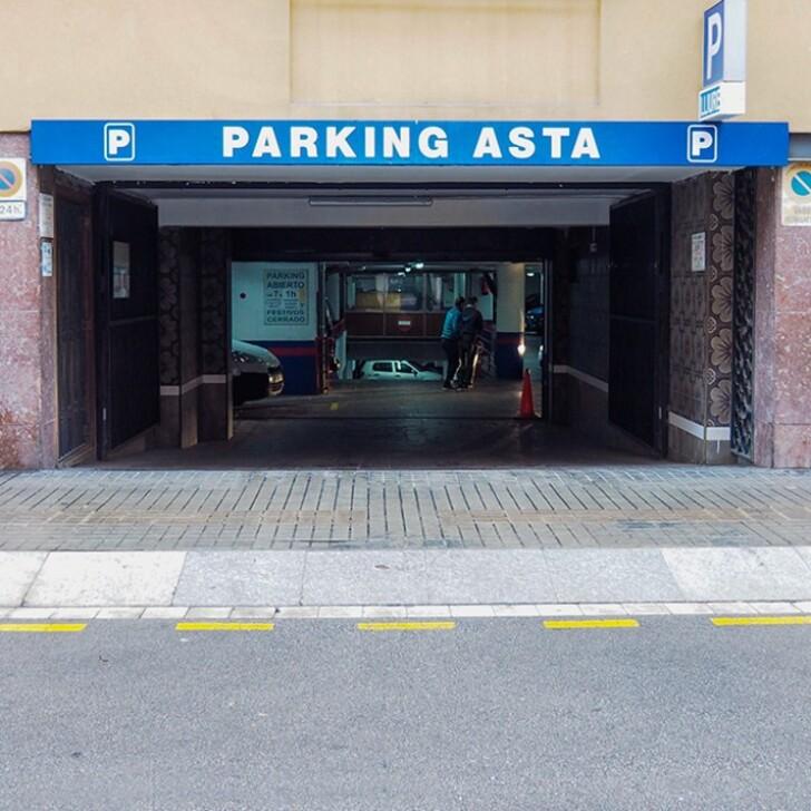 Parking Público SAN HERMENEGILDO (Cubierto) Barcelona