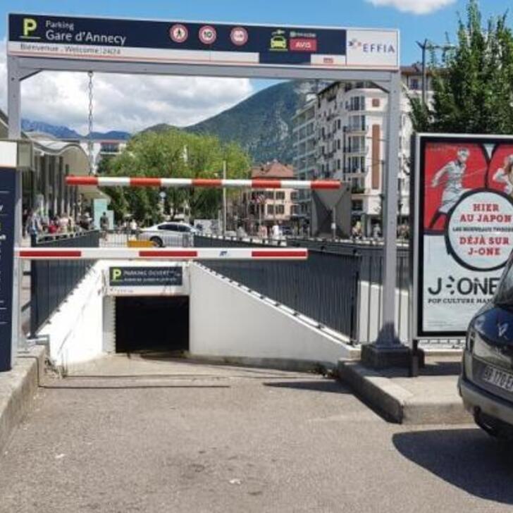 Parking Oficial EFFIA GARE D'ANNECY (Cubierto) ANNECY