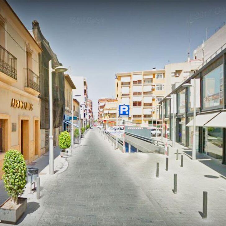Parking Público MERCADO DE SAN VICENTE (Cubierto) Alicante