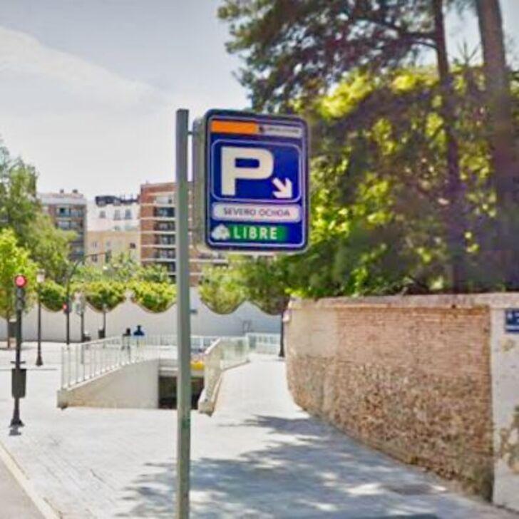 Öffentliches Parkhaus SEVERO OCHOA (Überdacht) Valencia
