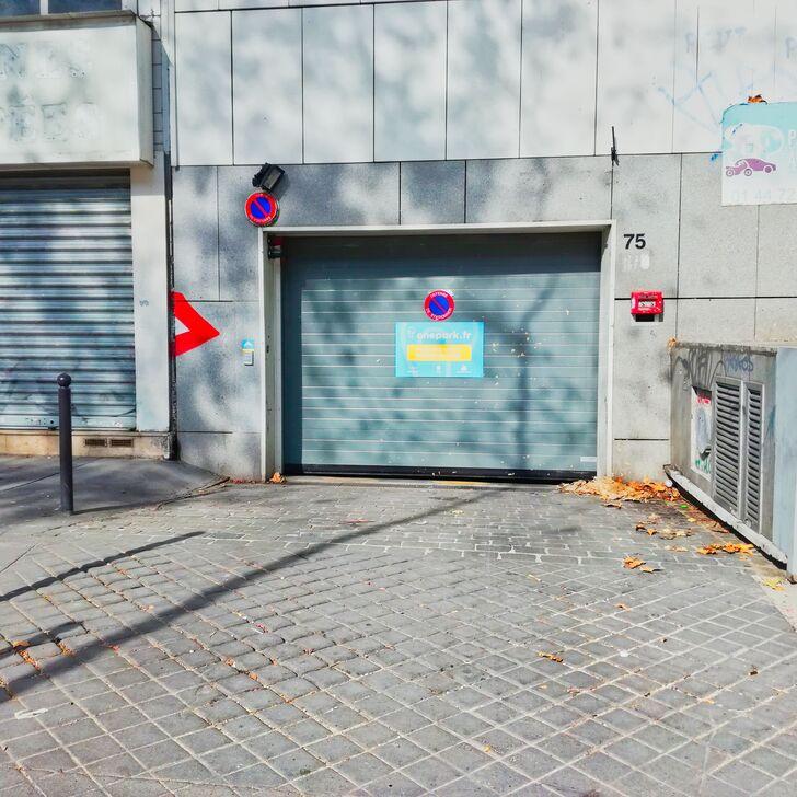 RUE DE LA CHAPELLE Building Car Park (Covered) Paris