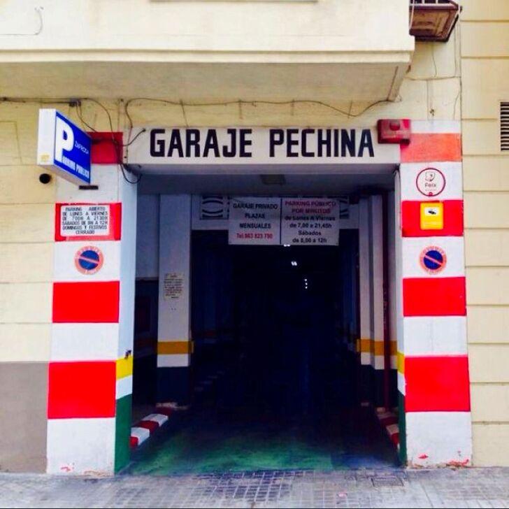 Parking Público GARAJE PECHINA (Cubierto) Valencia