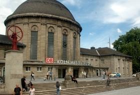 Cologne Messe/Deutz Station car parks in Köln - Book at the best price