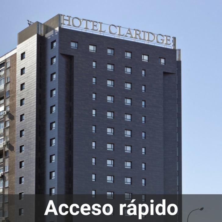 Parking Hôtel CLARIDGE (Couvert) Madrid