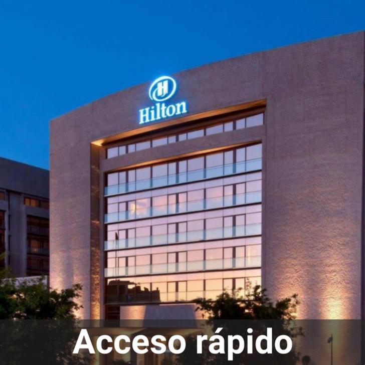 Hotel Parkhaus HILTON MADRID AIRPORT (Überdacht) Madrid