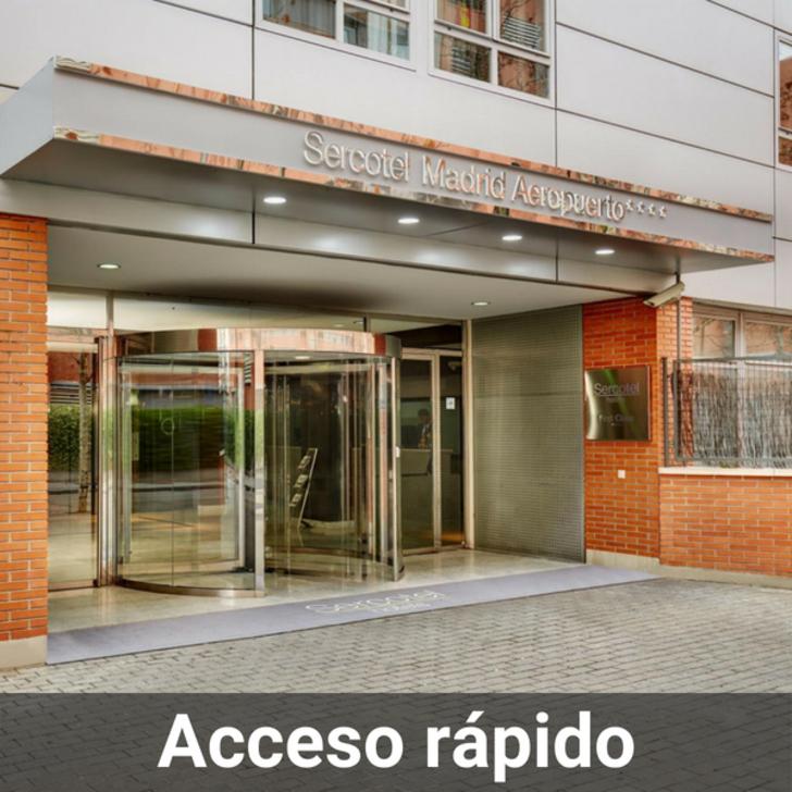Hotel Parkhaus SERCOTEL MADRID AEROPUERTO (Überdacht) Madrid