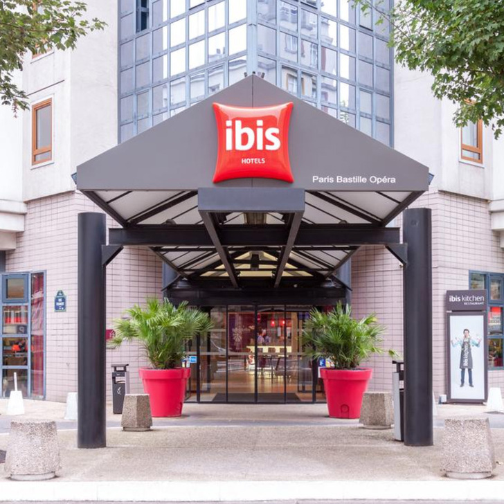 IBIS PARIS BASTILLE OPERA 11ÈME Hotel Parking (Overdekt) Paris