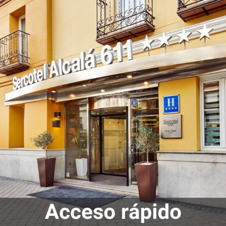 Parking Hôtel SERCOTEL ALCALÁ 611 (Couvert) Madrid