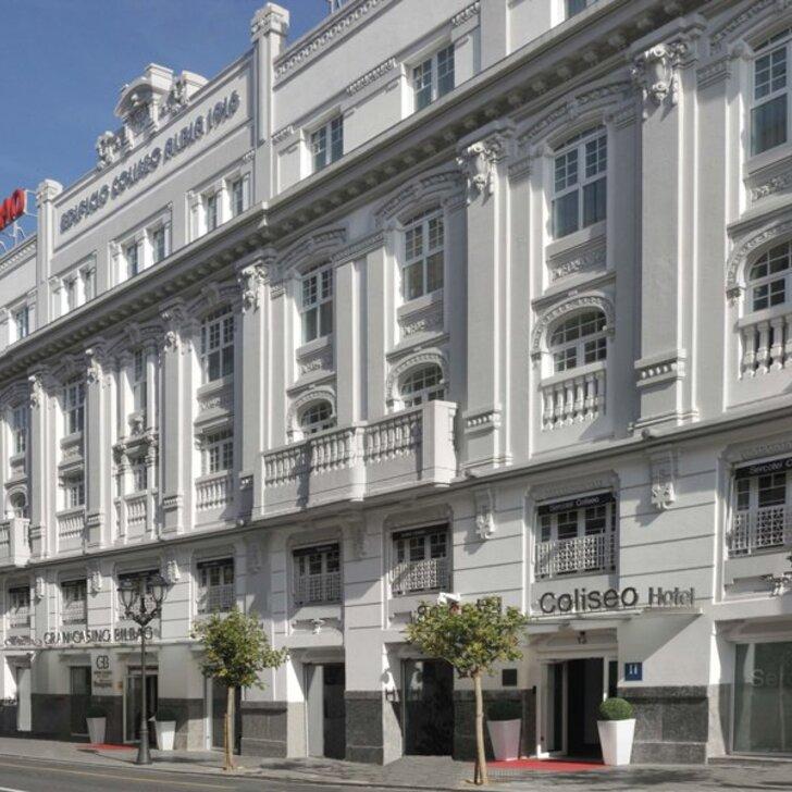 Parcheggio Hotel SERCOTEL COLISEO BILBAO (Coperto) Bilbao