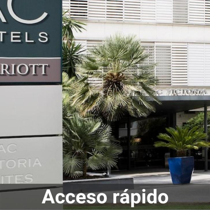 Parking Hotel AC HOTEL BY MARRIOTT VICTORIA SUITES (Cubierto) Barcelona