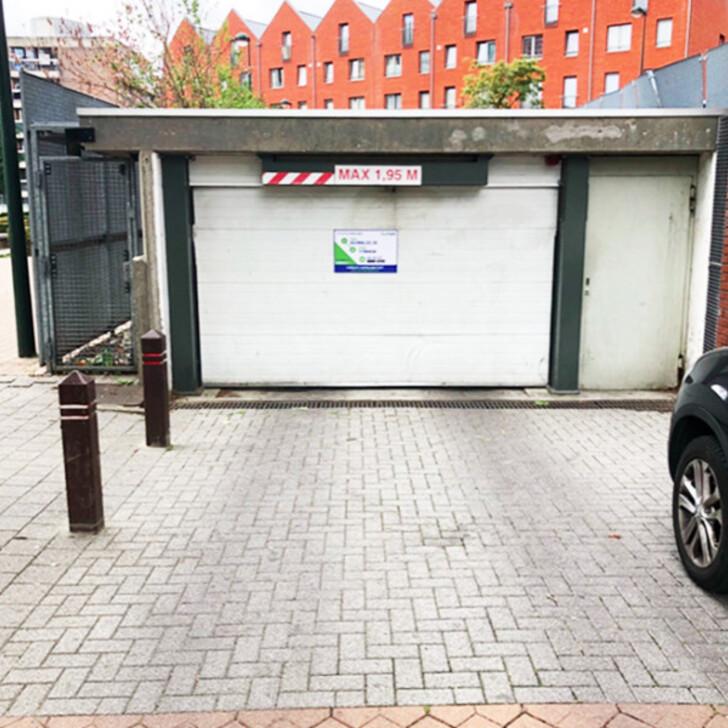 BEPARK GARE DE BRUXELLES-OUEST Openbare Parking (Overdekt) Molenbeek-Saint-Jean
