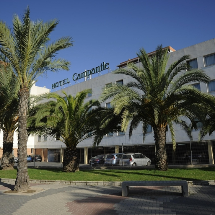CAMPANILE ALICANTE Hotel Car Park (External) Alicante