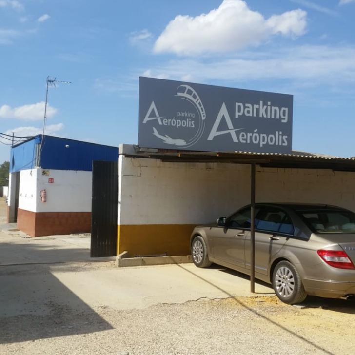 AERÓPOLIS Discount Parking (Exterieur) Sevilla