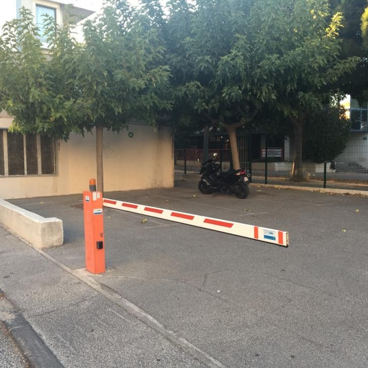 APARTHOTEL ADAGIO MARSEILLE PRADO PLAGE Hotel Parking (Exterieur) Marseille