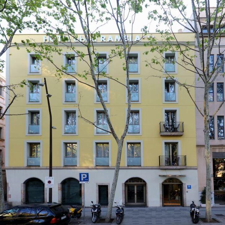 ABBA RAMBLA Hotel Parking (Overdekt) Barcelona