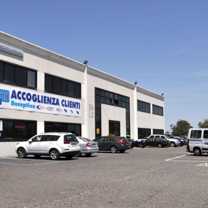 Parcheggio Low Cost BLU PARKING (Coperto) Fiumicino (RM)